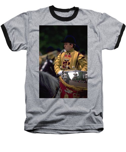 Drum Horse At Trooping The Colour Baseball T-Shirt