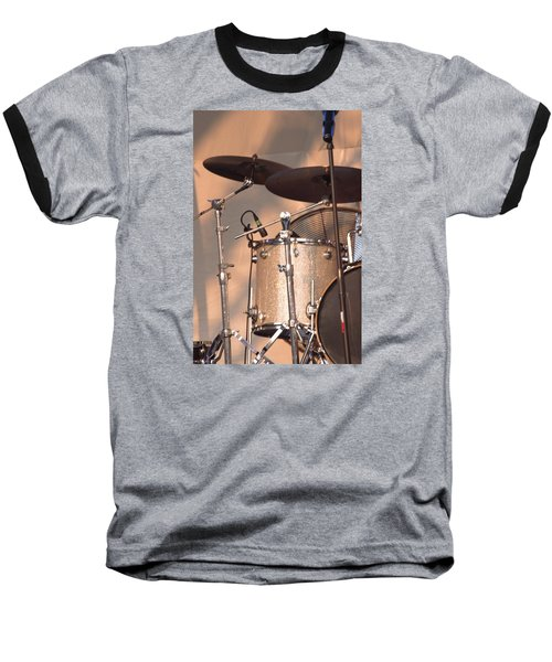Drum Set Baseball T-Shirt