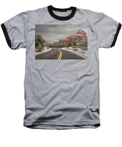 Boynton Canyon Road Baseball T-Shirt