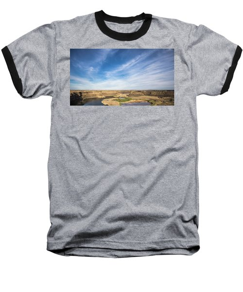 Baseball T-Shirt featuring the photograph Dry Fall, Washington by Jingjits Photography