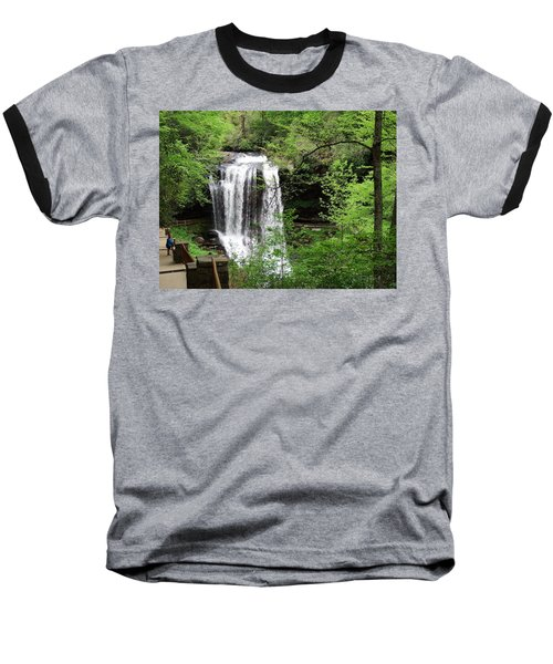 Dry Falls In The Spring Baseball T-Shirt by Cathy Harper