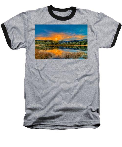Dry Lagoon Spring Morning Baseball T-Shirt