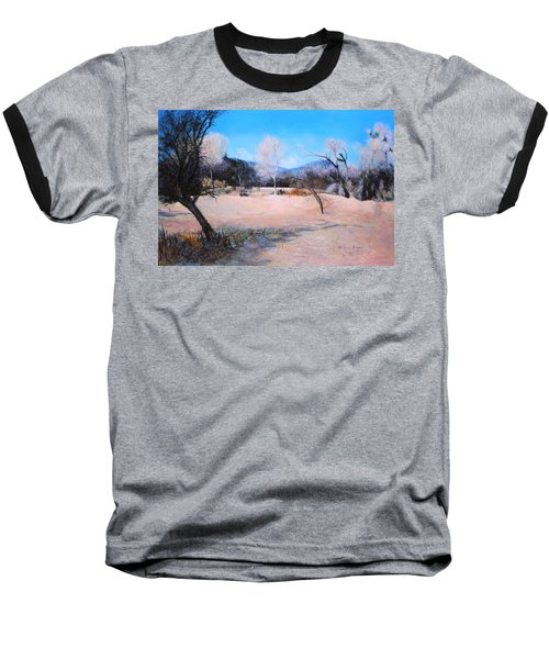 Dry Wash In Winter Baseball T-Shirt