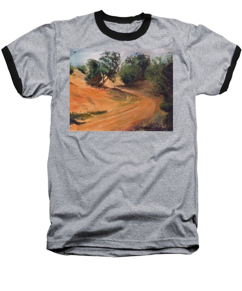 Dry Wash Road Baseball T-Shirt