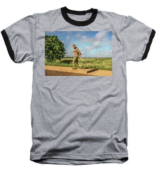 Drying Rice Baseball T-Shirt
