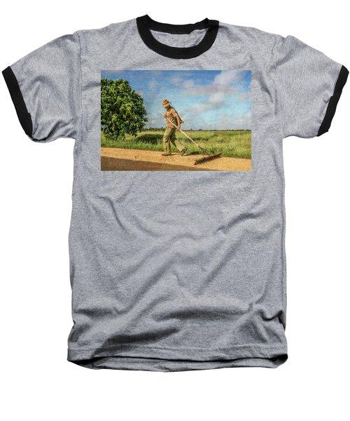 Drying Rice Baseball T-Shirt