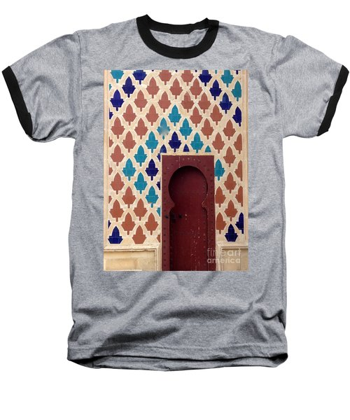 Dubai Doorway Baseball T-Shirt