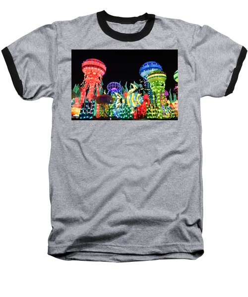 Dubai - Garden Glow Baseball T-Shirt