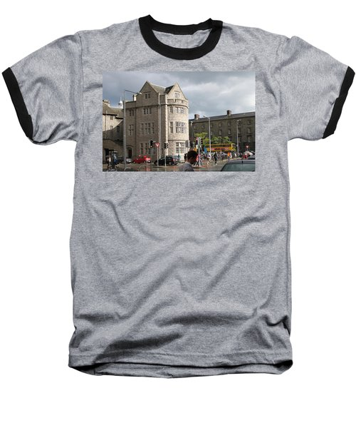 Dublin Near Pearse Street Baseball T-Shirt