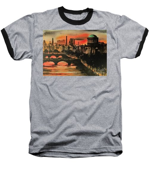 Dublin Sunset Baseball T-Shirt