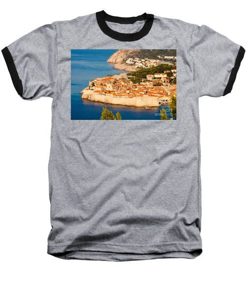 Dubrovnik Old City Baseball T-Shirt