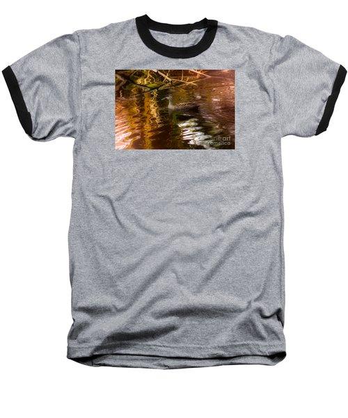 Duck Baseball T-Shirt by Cassandra Buckley