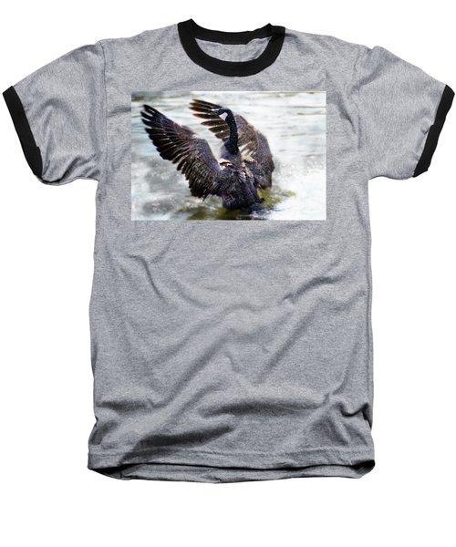 Duck Conductor Baseball T-Shirt