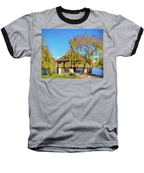 Duck Pond Gazebo At Virginia Tech Baseball T-Shirt