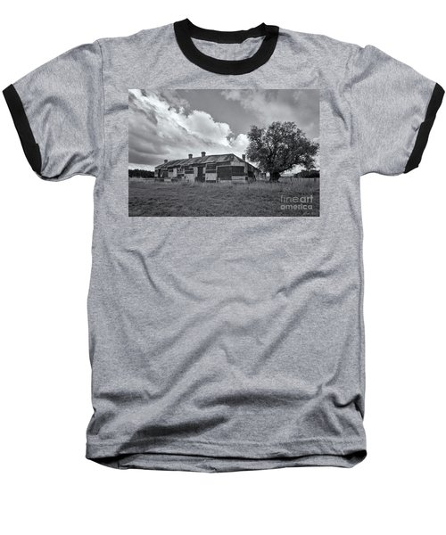 Baseball T-Shirt featuring the photograph Duckholes Hotel by Linda Lees