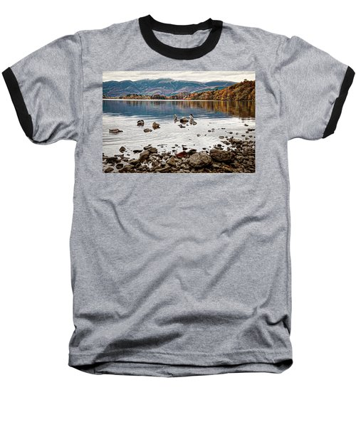 Ducks On Derwent Baseball T-Shirt