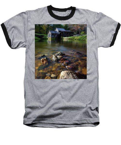 Ducks View Of Mabry Mill Baseball T-Shirt