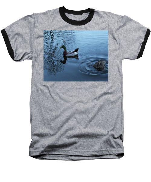 Mallard Duck Baseball T-Shirt