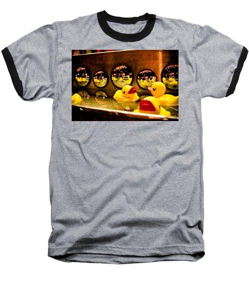 Ducky Reflections Baseball T-Shirt