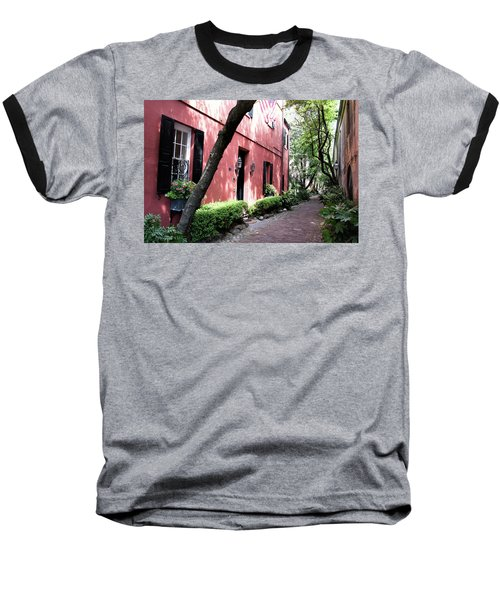 Dueler's Alley Baseball T-Shirt by Ed Waldrop