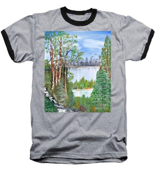 Dueling Lakes Baseball T-Shirt