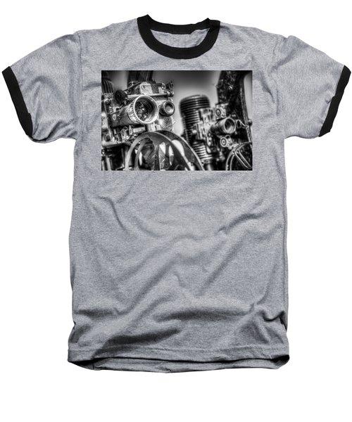 Dueling Projectors Baseball T-Shirt
