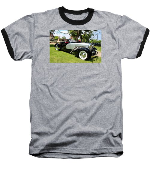 Baseball T-Shirt featuring the photograph Duesenberg Vii by Michiale Schneider