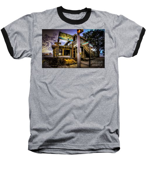 Duffy Street Seafood Shack Baseball T-Shirt