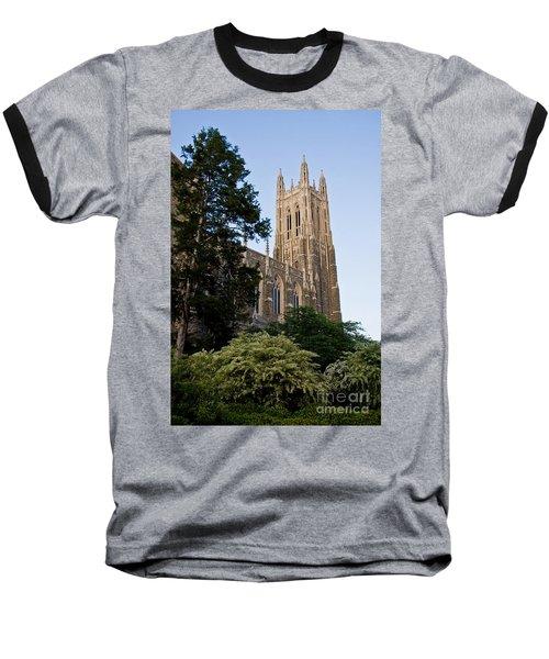 Duke Chapel Side View Baseball T-Shirt