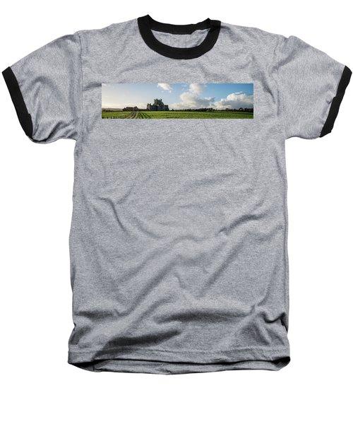 Dunbrody Abbey Baseball T-Shirt by Martina Fagan