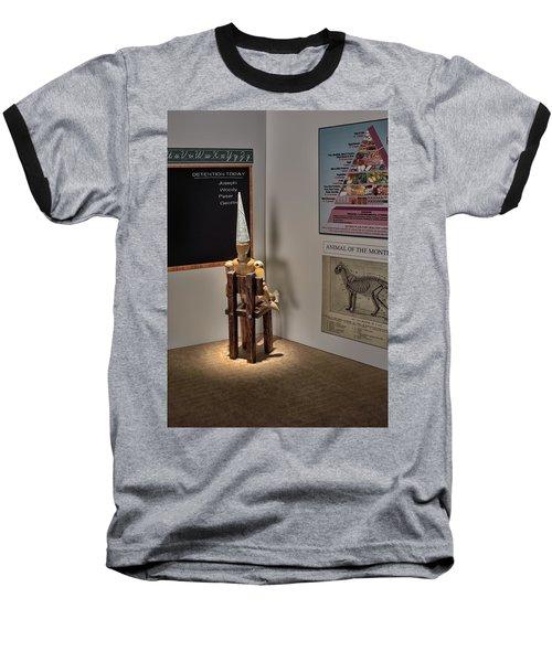 Dunce Baseball T-Shirt by Mark Fuller