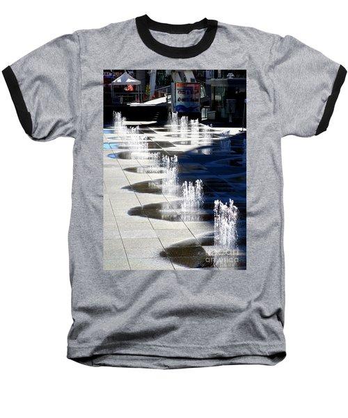 Dundas Square 1 Baseball T-Shirt by Randall Weidner