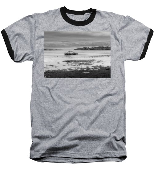 Dundrum The Old Boat Wreck Baseball T-Shirt