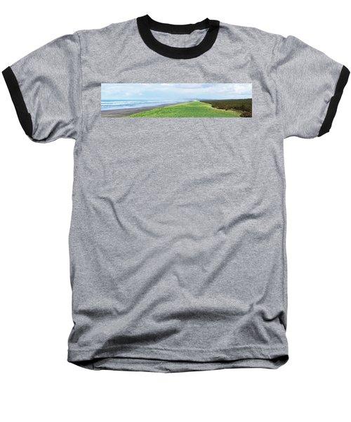 Dune At Fort Stevens Baseball T-Shirt by Angi Parks