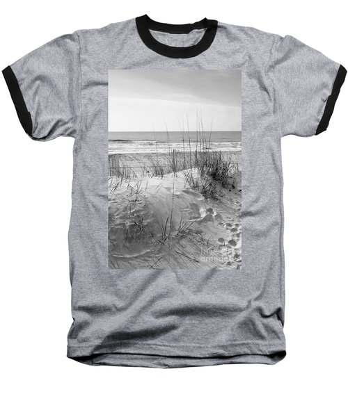 Dune - Black And White Baseball T-Shirt