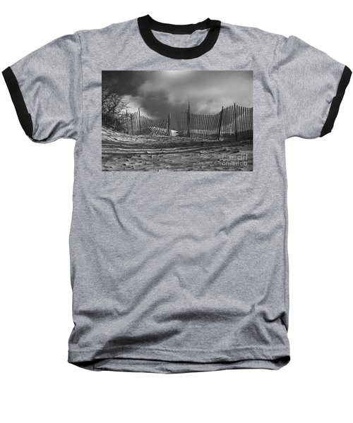 Dune Fence Baseball T-Shirt