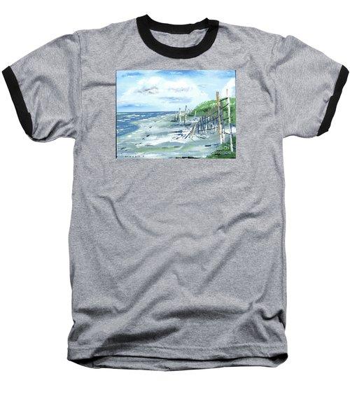 Dune Fences Isle Of Palms Baseball T-Shirt