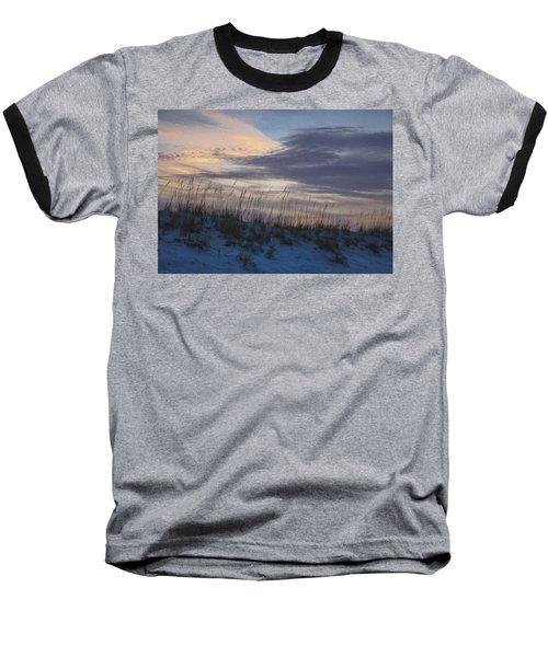 Dune Grass Blue Baseball T-Shirt