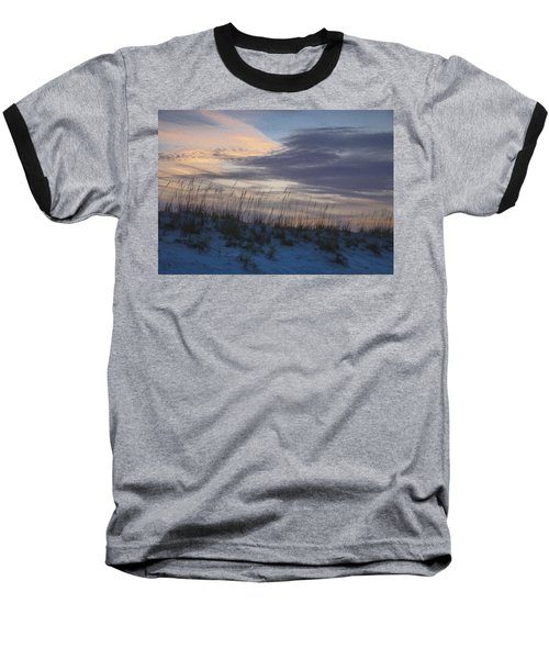 Dune Grass Blue Baseball T-Shirt