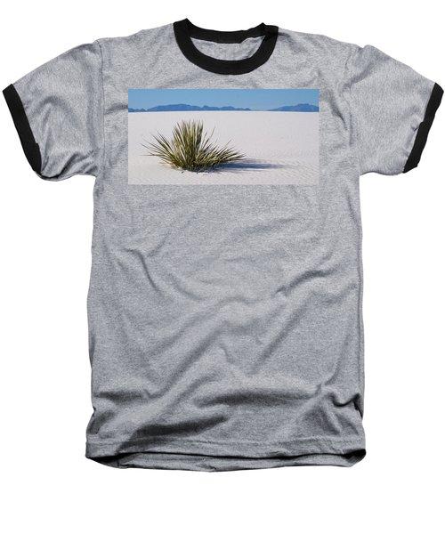 Dune Plant Baseball T-Shirt by Marie Leslie