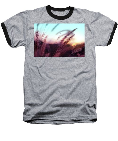 Baseball T-Shirt featuring the photograph Dune Scape by Laura Fasulo