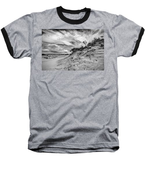 Baseball T-Shirt featuring the photograph Dune Sky by Alan Raasch