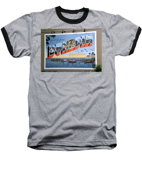 Dunedin Florida Post Card Baseball T-Shirt