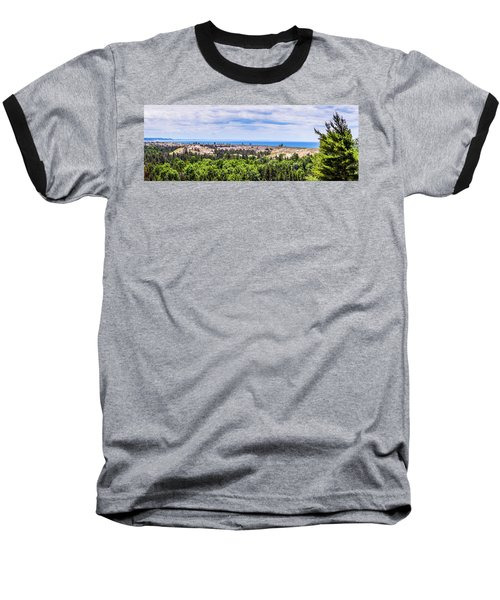 Dunes Along Lake Michigan Baseball T-Shirt