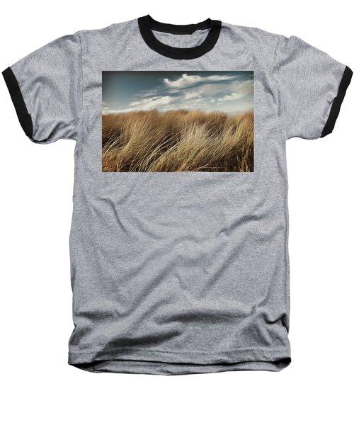 Dunes And Clouds Baseball T-Shirt