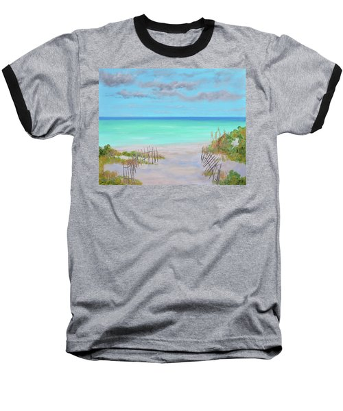 Dunes Beach Baseball T-Shirt