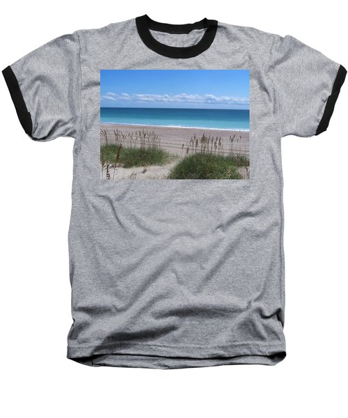 Baseball T-Shirt featuring the photograph Dunes On The Outerbanks by Sandi OReilly