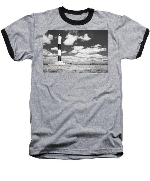 Dungeness Lighthouse. Baseball T-Shirt