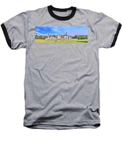 Dungeness Ruins Baseball T-Shirt