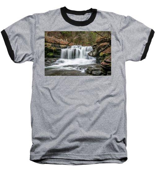 Dunloup Creek Falls Baseball T-Shirt